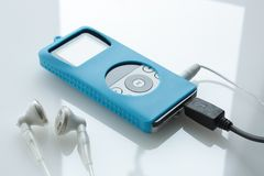 Reproducteur multimédia portatif Photo stock