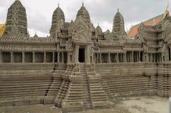 Reproduction d'Angkor Vat Images libres de droits
