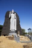 Reproduction d'Aukana Bouddha, Sri Lanka images stock