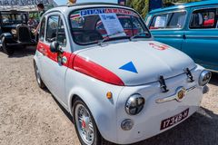 Reproduction de l'abarth 695 de Fiat Photographie stock libre de droits