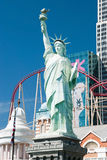 Reproduction de la statue de la liberté à nouveau York-nouvel York sur le Las Photographie stock