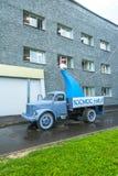 Reproduction de Spoutnik sur un camion Images stock