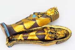Reproduction de tombeau de Tuthankamens images stock