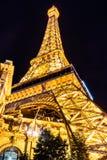 Reproduction de Tour Eiffel de Las Vegas photo libre de droits