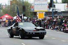 Reproduction de voiture de Kitt de cavalier de chevalier Images libres de droits
