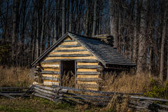 Reproduction hut at Valley Forge Park Royalty Free Stock Photography