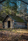 Reproduction hut at Valley Forge Pennsylvania Stock Images
