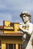 Reproduction of Michelangelo statue David Stock Image