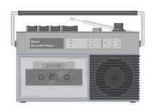 Reproductor de casete de radio Fotos de archivo libres de regalías