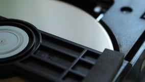 Reproductor de DVD Dentro de un reproductor de DVD almacen de metraje de vídeo