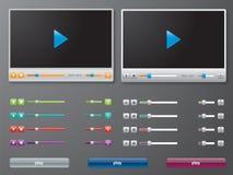 Reproductor multimedia adentro   Imágenes de archivo libres de regalías