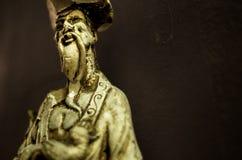 Reproduktion av en staty av Konfucius arkivfoto