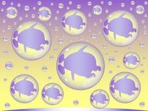 Reproduktion av främlingmarsinvånare vektor illustrationer