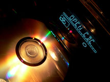 Reprodutor de CDs foto de stock royalty free