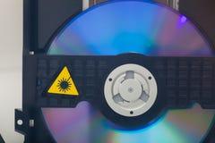Reprodutor de CDs Imagens de Stock