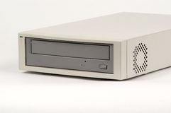 Reprodutor de CDs externo adiantado Fotografia de Stock