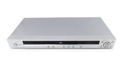 Reprodutor de DVD de prata isolado fotos de stock