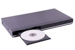 Reprodutor de DVD genérico isolado fotografia de stock royalty free