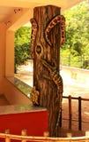 Reptielen & amfibieenstandbeeld Stock Foto