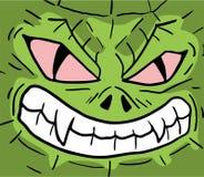 Reptile face Stock Photo
