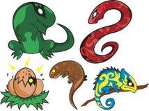Reptile Farm royalty free illustration