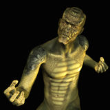 Reptile Man. 3D rendering of a reptile man Royalty Free Stock Photography