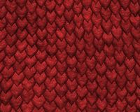 Reptile skin background large. Reptile skin background of large red scales royalty free stock photo