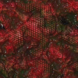 Reptile skin texture with slime Stock Photography