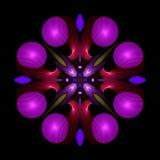 reptilian σπειροειδής σβούρα mandala Διανυσματική απεικόνιση
