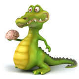 Reptilian brain Stock Photography