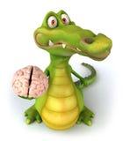 Reptilian hersenen Royalty-vrije Stock Fotografie