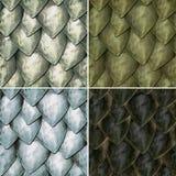 Reptilian Schalen Royalty-vrije Stock Fotografie