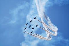 Aviões no airshow Imagens de Stock Royalty Free