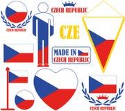 Repubblica ceca Fotografia Stock