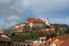 Repubblica ceca, Brno, fortificazione Spilberk fotografia stock libera da diritti