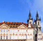 Repubblica ceca, monumenti di Praga Fotografia Stock Libera da Diritti
