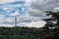 Repubblica ceca Torre dell'allerta di Petrin a Praga 13 giugno 2016 Fotografie Stock