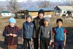 Repubblica del Kyrgystan Fotografia Stock