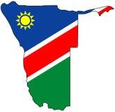 Repubblica di Namibia Fotografie Stock