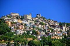 Repubblica Di San Marino fotografia stock