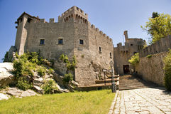 Repubblica di San Marino - Second Tower Rocca Cest Royalty Free Stock Photography