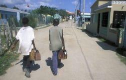 REPUBBLICA DOMINICANA DEL MARE DELL'AMERICA CARIBBIAN Fotografie Stock Libere da Diritti