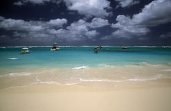 REPUBBLICA DOMINICANA DEL MARE DELL'AMERICA CARIBBIAN Immagini Stock Libere da Diritti