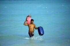 REPUBBLICA DOMINICANA DEL MARE DELL'AMERICA CARIBBIAN Fotografia Stock