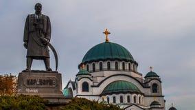 Repubblica incredibile di Serbia fotografia stock libera da diritti