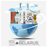 Republic Of Belarus Landmark Global Travel And Journey Infograph. Ic Vector Design Template Royalty Free Stock Photography