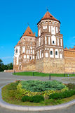 Republic of Belarus, Mir Castle Complex. Stock Photo