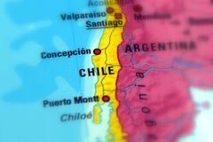 Republic of Chile. Chili, officially the Republic of Chile Stock Photography