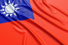 Republic of China flag Royalty Free Stock Images