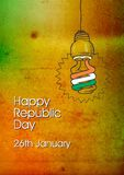 Republic Day 26 january Stock Photography